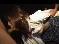 女子学生が監禁されて中出しレイプされる