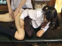 エステで全裸にされ性感マッサージされる女子校生 xvideos
