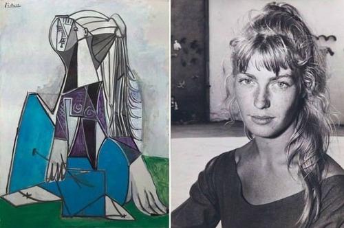 ピカソのモデルになった女性の画像(1枚目)