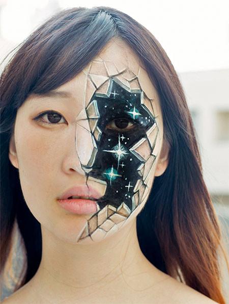 【画像】3Dボディペイントが怖すぎて怖すぎるwwwwの画像(7枚目)