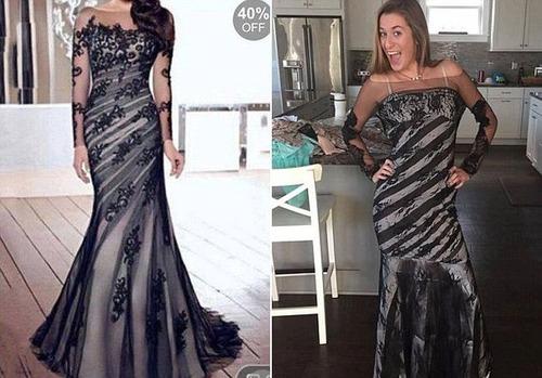 ちょっと酷い…女性の服の商品画像と届いた商品の比較画像の数々。。の画像(4枚目)