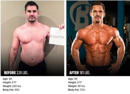 やればデキル!ダイエット肉体改造のビフォーアフターの画像の数々!!の画像(5枚目)