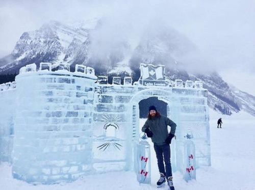 冬を楽しむカナダの人達の画像(41枚目)