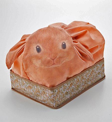 ウサギになる風呂敷の画像(2枚目)