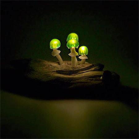 本物のような光るキノコのようなライトが可愛い!!の画像(7枚目)