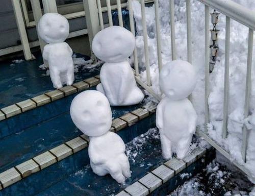 ハイクオリティな雪像の画像(22枚目)