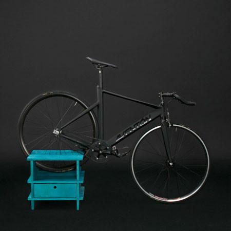 ちょっとした工夫で自転車の収納がカッコよくなる!の画像(8枚目)