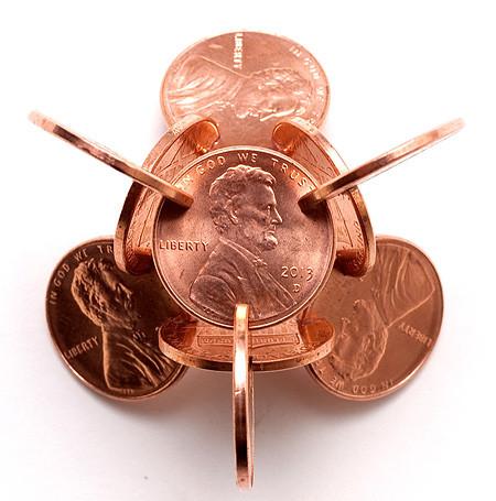 【画像】もったいないけど凄い!コインを使った面白アート!の画像(13枚目)