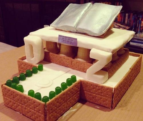 【画像】お菓子でできた家やジオラマが凄い!!の画像(16枚目)