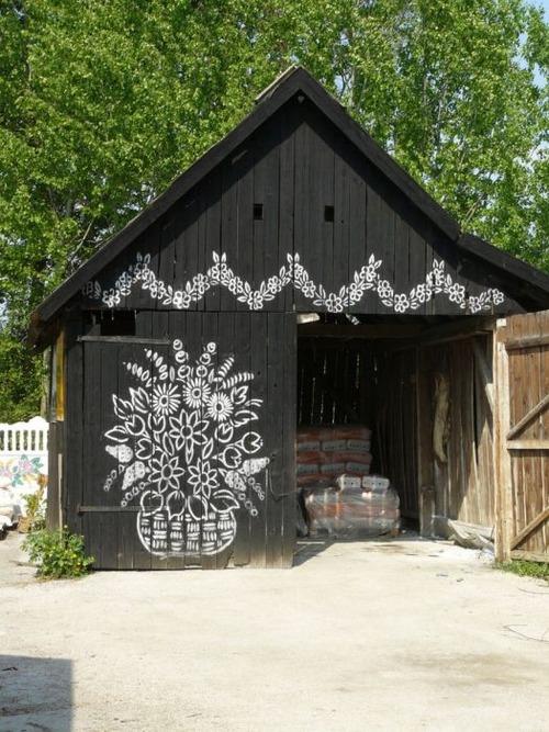 お花がプリントしてある可愛い家の画像(18枚目)