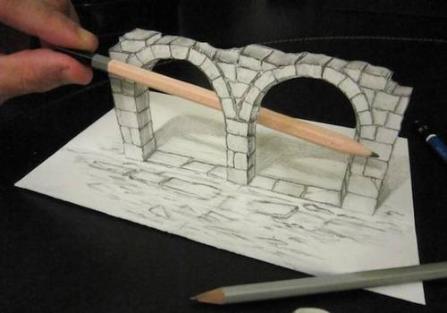 紙で作った3Dアートの画像(16枚目)