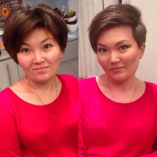 女性の化粧前、化粧後の画像の数々_26