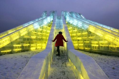 中国の雪祭りの画像(7枚目)
