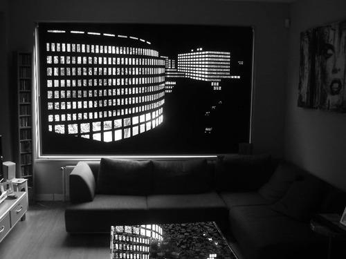 夜景のような景色のカーテンの画像(11枚目)
