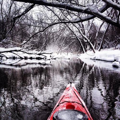カヤック(カヌー)に乗る理由がわかる川沿いの風景の画像の数々!!の画像(1枚目)