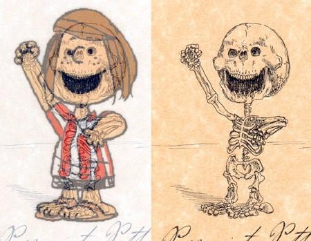 アニメや漫画のキャラクターの骨格のイメージ画像が凄いwwwの画像(15枚目)