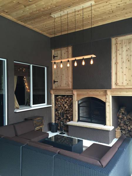 ロマンを感じる!自宅に追加で作った暖炉が凄い!!の画像(17枚目)