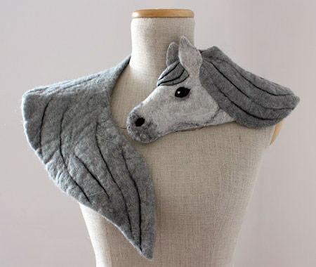動物をモチーフにしたスカーフの画像(4枚目)