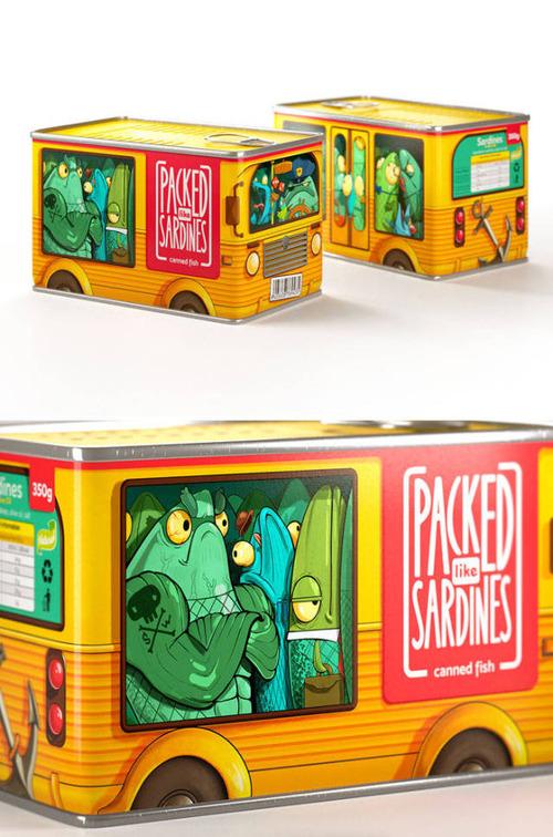 食べ物のパッケージのデザインの画像(9枚目)