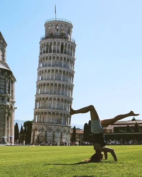 ピサの斜塔の記念撮影の画像(39枚目)