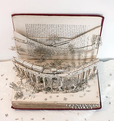 本の3Dの彫刻07