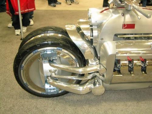世界に10台5500万円のバイク!ダッジ・トマホークがやっぱり凄い!!の画像(10枚目)