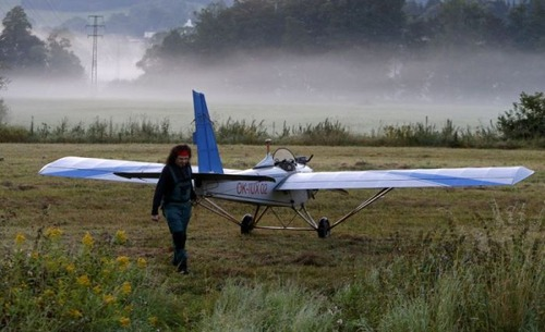 自作の飛行機で会社に通勤の画像(11枚目)