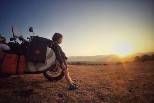 【画像】1台のバイクで家族3人が41カ国を4ヶ月で制覇!!の画像(21枚目)
