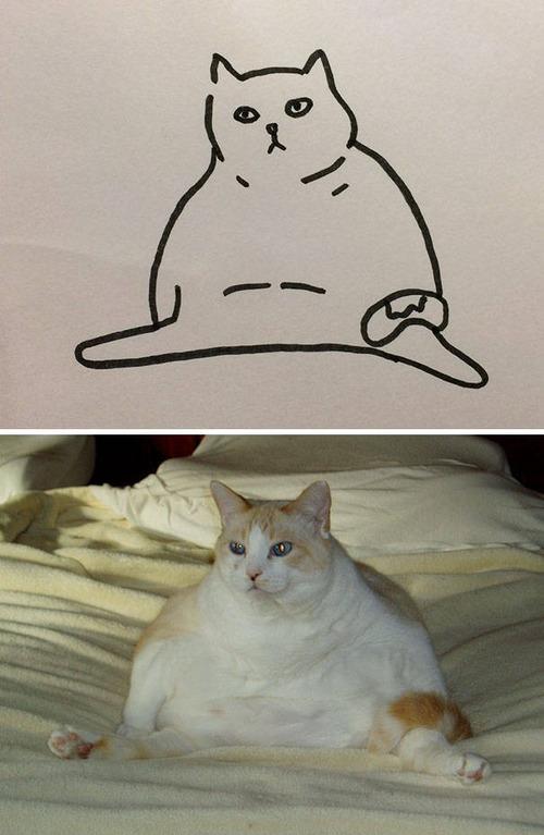 猫のイラストの画像(18枚目)