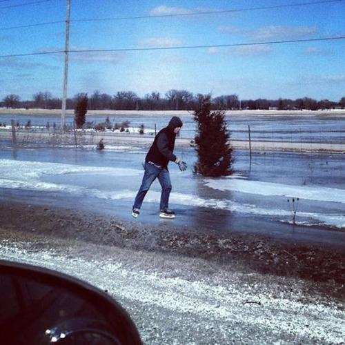 冬を楽しむカナダの人達の画像(9枚目)