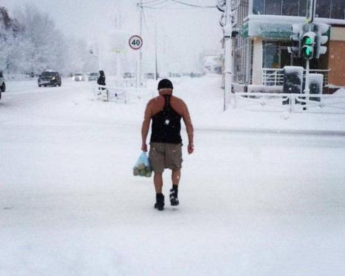 海外の凄まじい冬の寒さの画像(4枚目)