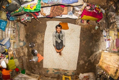 世界各国の人達のベッドルームの画像(25枚目)