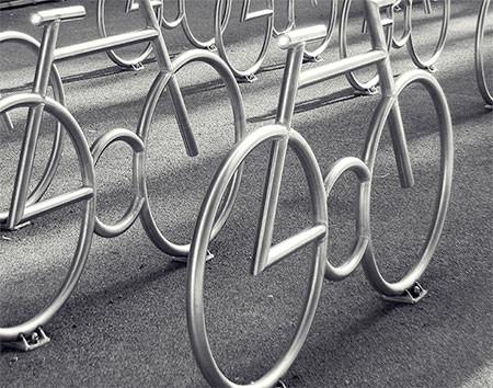 自転車の駐輪場10