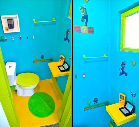 部屋一面スーパーマリオの画像(6枚目)