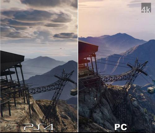 PS4とパソコンのグラフィックを同じゲームで比較した結果!!の画像(10枚目)