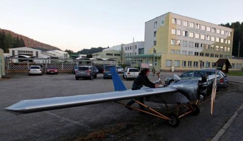 自作の飛行機で会社に通勤の画像(13枚目)