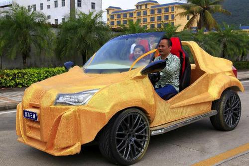 中国の3Dプリンタで作られた自動車がなんだかヤバイ!の画像(3枚目)