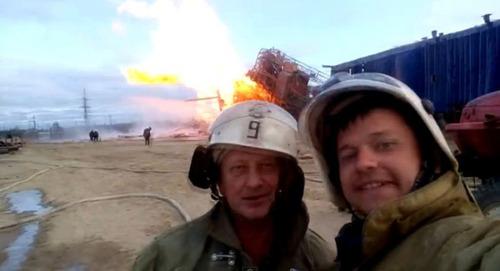 もうお手上げ!火事をバックに記念撮影してる画像の数々!!の画像(12枚目)