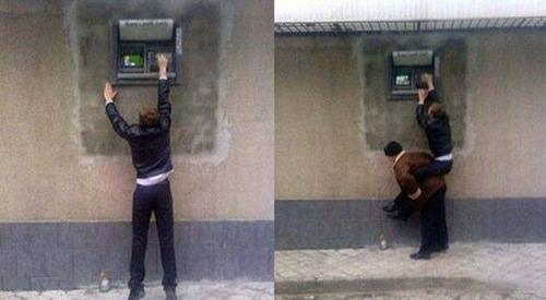 ヤバイ銀行のATMの画像(1枚目)