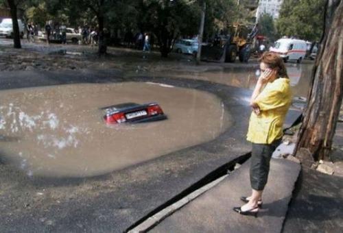 悲惨すぎる自動車のトラブルの画像(1枚目)