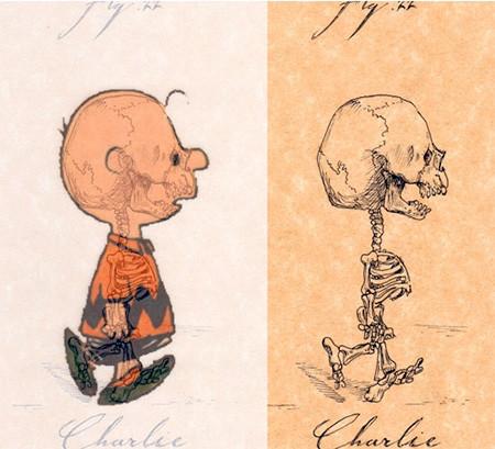 アニメや漫画のキャラクターの骨格のイメージ画像が凄いwwwの画像(17枚目)