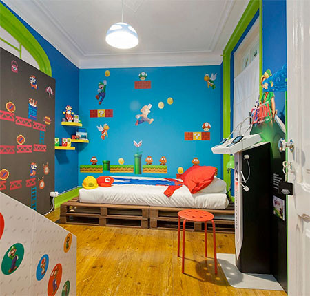 部屋一面スーパーマリオの画像(7枚目)