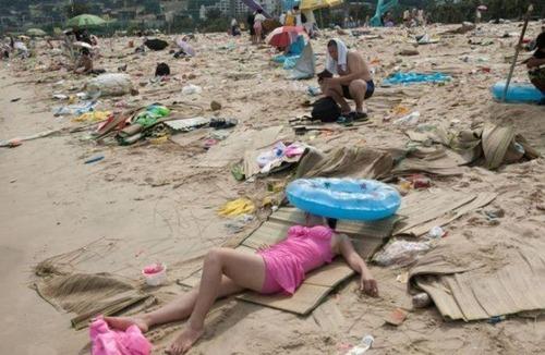 中国の海水浴場の画像(9枚目)