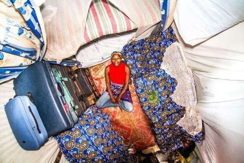 世界各国の人達のベッドルームの画像(24枚目)