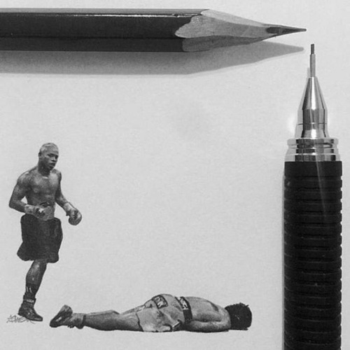 鉛筆やシャーペンで描いた小さいけど凄いクオリティの画像の数々!!の画像(11枚目)