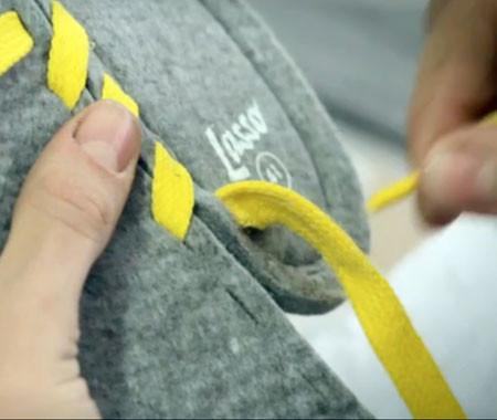 超簡単!自分で作る靴「Lassa」!!の画像(4枚目)