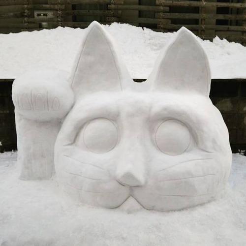ハイクオリティな雪像の画像(2枚目)