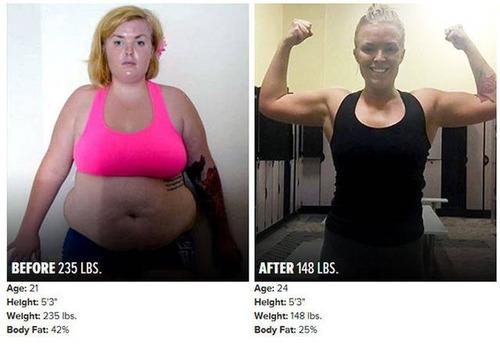 やればデキル!ダイエット肉体改造のビフォーアフターの画像の数々!!の画像(9枚目)