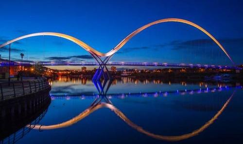 美しい橋の画像(4枚目)
