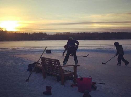 冬を楽しむカナダの人達の画像(34枚目)